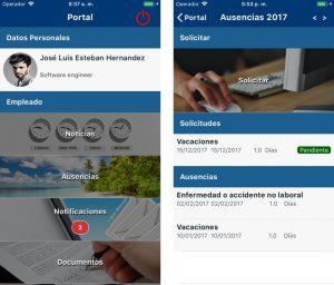 portal mobile de recursos humanos de equilibrha