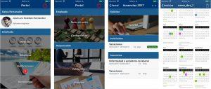 portal mobile para recursos humanos de equilibrha
